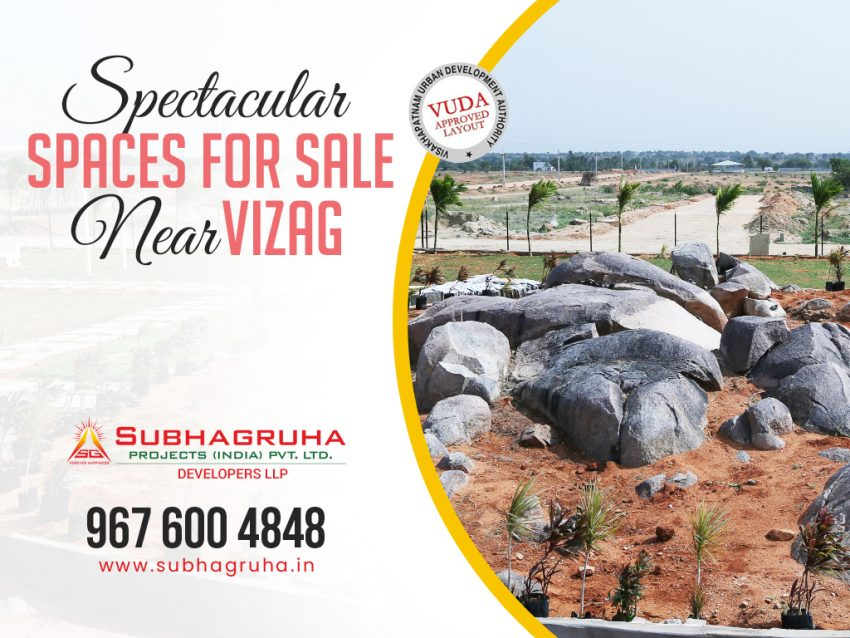 Spectacular Spaces For Sale Near Vizag
