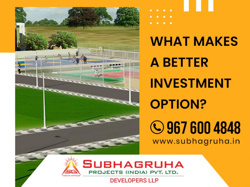 Better Investment Option in Vizag